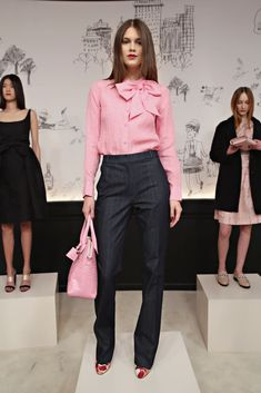 A look from the Kate Spade New York fall 2015 collection. Photo: Cindy Ord/Getty Images