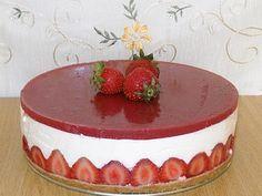 Cheesecake cu capsuni - imagine 1 mare