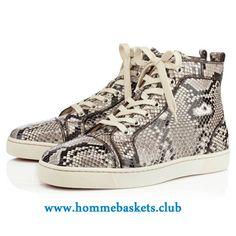 398026031cc Christian Louboutin Homme Louis Python Lucido ROCCIA Classique P Chaussures  Pas Cher