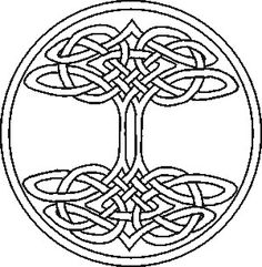 Celtic knot Tree of Life, part six . . .