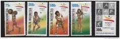 MINT STAMPS - OLYMPIC GAMES BARCELONA - 1992 - INDONESIA - ** / MNH…