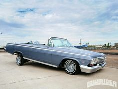 1962 Chevrolet Impala Convertible.
