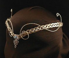 Medieval Elven Circlet by ElvenDesign on Etsy