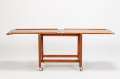 Poul Hundevad Serving Trolley Teak 60's