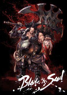 Blade&soul Fanart-3, shin ryu on ArtStation at http://www.artstation.com/artwork/blade-soul-fanart-3