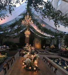 Wedding weddingdecor weddingides adorning for an adorning for an out of doors marriage ceremony reception offers you an opportunity to understand a gorgeous marriage ceremony fantasy a wonderful out 18 gorgeous garden wedding venues in the us Fantasy Wedding, Fall Wedding, Rustic Wedding, Wedding Ceremony, Our Wedding, Dream Wedding, Indoor Garden Wedding Reception, Greenhouse Wedding, Tent Wedding
