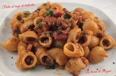 Pasta al ragù di lenticchie, una variante gustosa e saporita della classica pasta e lenticchie. Gnocchi, Pasta Recipes, Food Art, Pasta Salad, Vegetarian Recipes, Side Dishes, Food And Drink, Meals, Dinner