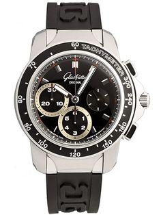 Follow us to view more beautiful watches! Glashütte Original Sport Evolution Chronograph 39-31-43-03-04
