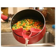 Cool kitchen gadgets you didn't know existed. Update your kitchen to a gourmet kitchen with these gadgets. Cool Kitchen Gadgets, Home Gadgets, Cooking Gadgets, Cooking Tools, Kitchen Items, Kitchen Hacks, Kitchen Utensils, Cool Kitchens, Kitchen Appliances