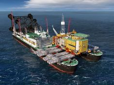 Enerpac lifting accuracy enables Pioneering Spirit fast lift