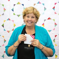 Watch as Jenny walks you through the steps to create this fun little Pecking Order Quilt!