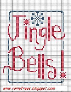 Romy's Cross Stitch Patterns: Jingle Bells!