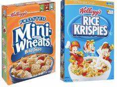 $1.00 off any THREE Kellogg�s Cereals Coupon