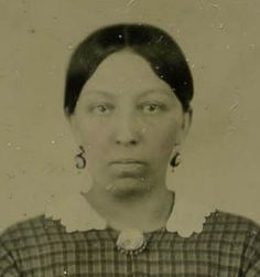Elizabeth Keckley. Former slave turned businesswoman. Mary Lincoln's dressmaker and friend in the White House.