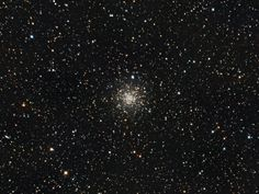 M56: A globular cluster in the constellation Lyra. Imaged from Guelph, Ontario by Canadian astrophotographer Ron Brecher.