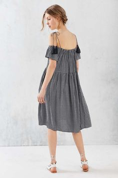 Little White Lies Francoise Off-The-Shoulder Dress - Urban Outfitters