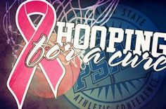 East Stroudsburg University will join with all 16 schools from across the PSAC in participating in Hooping for a Cure during the end of January and throughout February.     Hooping for a Cure is part of a national breast cancer awareness and fundraising effort on behalf of the Women's Basketball Coaches Association in partnership with the Kay Yow Cancer Fund and The V Foundation.