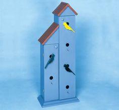 Birdhouse Video/CD Cabinet Plans
