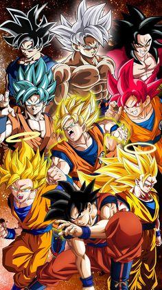 Goku y sus fases | Goku | Pinterest | Goku, Dragon ball y ...