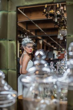Inspiration Photo Shoot | Mod Photography | West End Architectural Salvage | Pure Bridal | It's All About Me | Atelier/hairspace | cynwhd b. designs | Special Events | Vintage Love, Rentals & annessi | Scratch Cupcakery | Max Wellman Band | Eli Jazz Band | Flying Pig Fiddle & Banjo