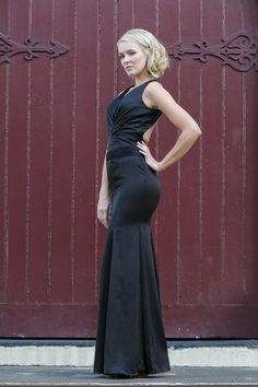 Stella Black Evening Dress by Tania Olsen Designs
