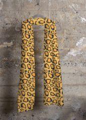 Virginia Wright Leopard Cashmere Scarf. #leopard #leopardprint #leopardprintscarf