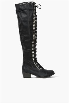 Studded Tall Boot