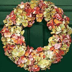 Hydrangea Wreath, Monticello Catalog