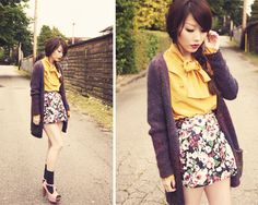 Asian Fashion. I like the outfit but not feeling the shoes w/socks..
