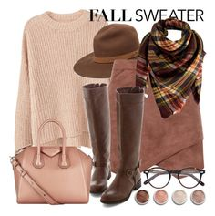 """""""Fall sweater"""" by kjacksson ❤ liked on Polyvore featuring MANGO, rag & bone, BCBGMAXAZRIA, Peach Couture, Givenchy, Moscot and Terre Mère"""
