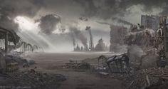 Seattle Post Apocalypse by BDBros