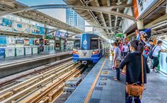 This is the BTS skk train system in Bangkok, Thailand. This image was taken on Sukhumvit, Bangkok and I rendered it in HDR using Photomatix. I thought it made the photograph of the station a little more interesting highlighting some of the colors http://teambuilding-bangkok.com/team-building-thailand/events-in-bangkok-thailand/