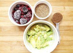 Smoothie de Avocado Pentru Creier Omega 3, Raw Vegan, Lettuce, Smoothies, Avocado, Vegetables, Health, Pizza, Cakes