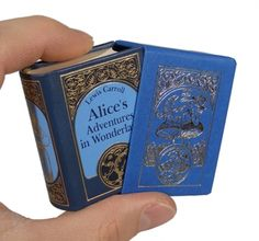 """Alice in Wonderland"" by Lewis Carroll - in miniature"