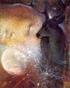 """Susan Seddon Boulet - Goddess """"Rhiannon""""(name means Divine Queen)/( Celtic or British mythology, Welsh mythology)."""