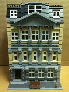 Custom Lego Modular Building 001 10224 10197 10185 10182 10211   eBay