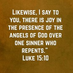 Luke 15:10