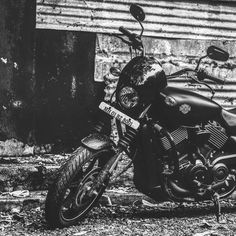 Harley Street 750 #harley #bike #bikes #engine #black #white #tire #perspective #perfect #photooftheday