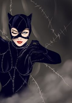 Catwoman, Art by Ethevian