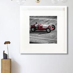 Garage decor red Classic car photography/Kitchen Decor/classic car decor/car wall art/large art/kids room art/boy girl room decor men by PHOTOFORWALL on Etsy