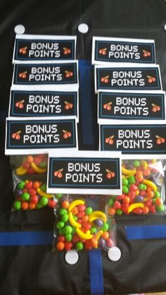 Pacman party bonus points runts party favor