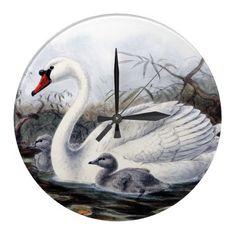 Swans Wallclock