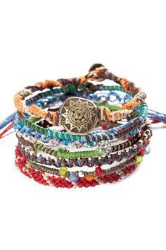 Earth Bracelet Set //