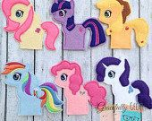 Little Pony Finger Puppets