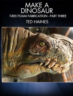 Learn how to make a foam T-Rex with FX artist Ted Haines (Blade II, The Muppets, Cowboys & Aliens). Puppet Costume, Dinosaur Costume, Puppet Making, Prop Making, Epic Cosplay, Cosplay Diy, Make A Dinosaur, Dinosaur Suit, Foam Carving