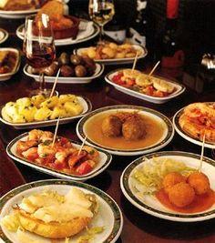 Spanish food: Tapas ♥ Love it!