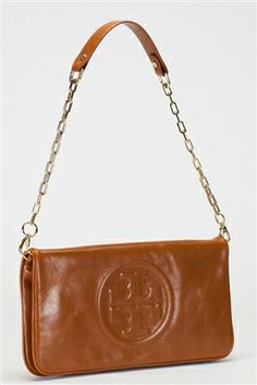 Rodeo Drive Resale - www.shopRDR.com - 100% Authentic Guaranteed - New Tory Burch Luggage Bombe Reva Clutch Shoulder Bag