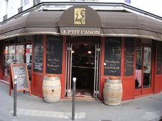 LE P'TIT CANON  36, rue legendre, paris, 75017.