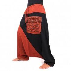 Aladdin pants two-colored
