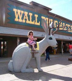 Fun Midwest Places to Stop on Road Trips - Wall Drug, South Dakota - kitschy attraction with lots to see! Road Trip With Kids, Family Road Trips, Travel With Kids, Car Trip Activities, Activities For Kids, Wall Drug, Road Trip Hacks, Car Travel, Packing Tips